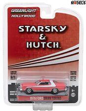 1976 FORD GRAN TORINO Starsky e Hutch Greenlight Limited Edition 1/64 New Nuovo