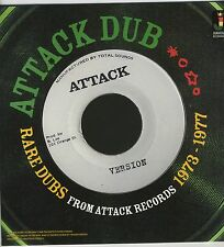 ATTACK DUB - RARE DUBS From Attack Records 1973-1977 NEW CD £9.99