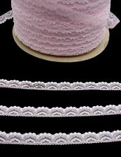 Lace Vintage Half Inch Narrow Trim 10 yards Sewing Doll Crafts PINK Lot 74