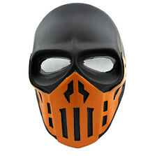 Paintball CS Airsoft Full Face PC Lens Eye Protection Skull Mask PROP Cosplay