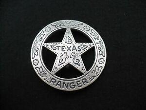 Historische Abzeichen des Wilden Westens Texas Ranger von Göde Badge Insigne