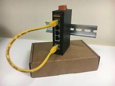 Kyland Industrial 5 Port Ethernet Network Switch Box CAT 5/6 5 Port 24V AC/DC