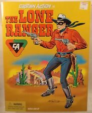 """Captain Action Reissue Playing Mantis 12"""" The Lone Ranger Red & Black Doll MISB"""