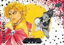 ADAM WARLOCK / Marvel Anime 2020 (Upper Deck) BASE Card #18 Art by PEACH MOMOKO