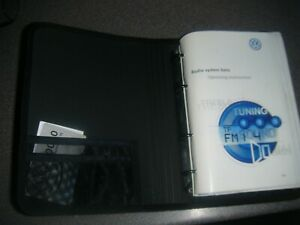 VW POLO 1.6 16v GTI 6N2 99-01 OWNERS MANUAL WALLET SERVICE HISTORY Complete Set