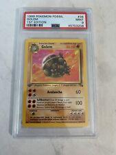1999 Pokemon Fossil #36 Golem 1st Edition PSA 9 Mint Nintendo Gamefreak