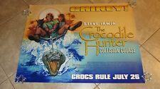 Crocodile Hunter movie poster - Steve Irwin poster - Drew Struzan artwork