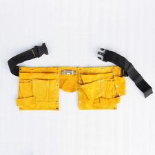 Wo Outil Pochette Travail Sac ceinture en cuir pour Électricien Maintenance Carpenter Worker