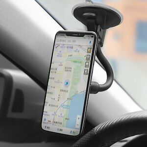 Lightweight Magnetic Car 360 Windshield Sucker Long Mount Holder For Phone GPS