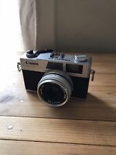 Canon Canonet 28 Rangefinder 35mm SLR Film Camera Body w/ f2.8 45mm