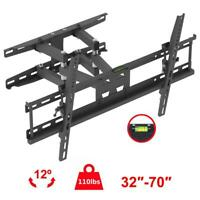 Articulating Full Motion TV Wall Mount Swivel Bracket 32 36 42 46 50 55 60 65 70