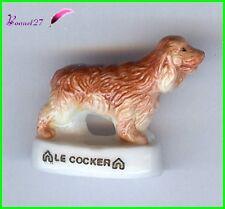"""Feve Les Races de Chien Dog Edition Atlas """" Le Cocker """" #A32"""