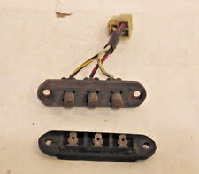 Alfa Romeo Spider Trunk Lid light Electric Contacts Switch COMPLETE 1982 to 1994
