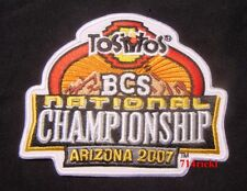 2007 BCS National Championship Game Patch Florida Gators vs Ohio State Buckeyes