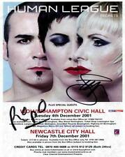 HUMAN LEAGUE SIGNED PP PHOTO dare dont you want me #A