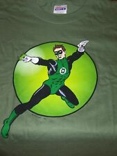 GREEN LANTERN Adult T-Shirt:  XL, SS, Hanes-100% Pre-Shrunk Cotton, Green, NEW!