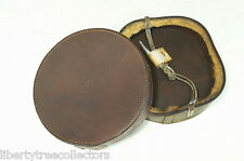 Military Vintage Leather Cannon Muzzle Cover