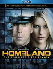 Homeland: The Complete First Season Blu-Ray 3-Disc Set NEW FREE SHIPPING USA