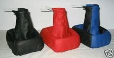 FITS FORD ESCORT MK4 MK5 REAL LEATHER GAITER GEAR NEW COLOUR