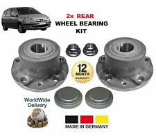 FOR PEUGEOT 807 2.0 2.2 3.0 V6 16v 2002 >ON NEW 2x REAR WHEEL BEARING HUB KIT