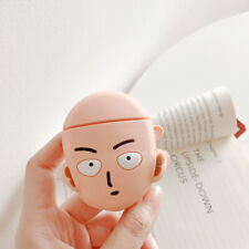 Anime One Punch Man Doll Cover Airpods Shockproof Case for Apple Airpods Earbud