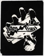 Judas Priest British Steel Large Original Sew On Patch