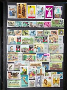 COLLECTION OF KENYA STAMPS