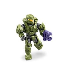 Mega Bloks Halo UNSC Spartan Scout Green - Alpha Series Minifigure