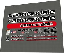 Cannondale Scalpel 4000 Siemens Frame Decal Set