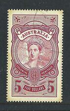 AUSTRALIA 2010 COLONIAL HERITAGE $5 STAMP FINE USED