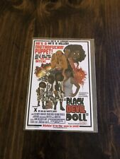 Black Devil Doll RARE 4x6 Postcard  From Hell
