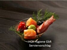 20 Einweg-Fingerfood  Schalen,  75 ml,  Ø 9 cm,  glasklar, Buffet,  Dippschale