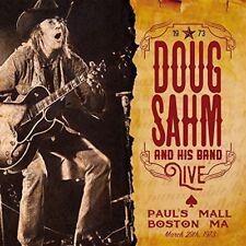 Doug Sahm and His Band - Live - Paul's Mall, Boston, MA 1973 (2016)  CD  NEW