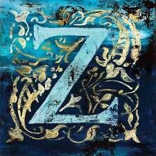 "36""x36"" Z by RODNEY WHITE LETTER ALPHABET GICLEE CANVAS"