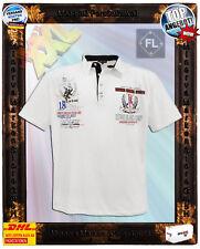 Übergröße Herren Polo-Shirt 2038 Kurzarm cremeweiß Stick&Druck Baumwolle 3XL-8XL