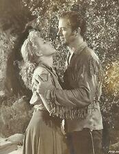 "PIPER LAURIE & DANA ANDREWS in ""Smoke Signal"" Original Vint. Photo 1955 - SCARCE"
