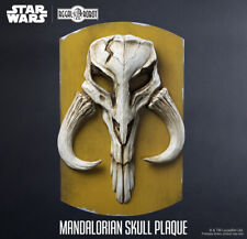 REGAL ROBOT Mandalorian Skull Plaque NEW Star Wars Boba Fett