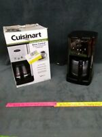 Cusinart DCC-1200 CoffeeMaker With glass Pot brew central 12-cup programmable