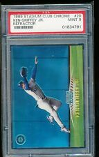 1999 STADIUM CLUB CHROME KEN GRIFFEY JR. REFRACTOR #20 PSA 9 MINT