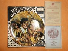 """Vintage 1978 """"The King And His Ladies"""" Mgm 9.5"""" Collector Plate ~ Coa Whittaker"""