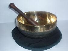 CAMPANA TIBETANA REALIZZATA A MANO qualità superiore sette metalli artigianale 1