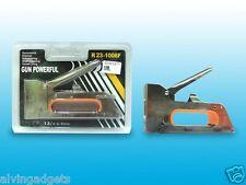 Tacker Staple Metal Gun 4/6/8mm Upholstery Stapler
