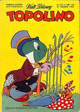 [138] TOPOLINO ed. Mondadori 1967 n.  613 stato Ottimo