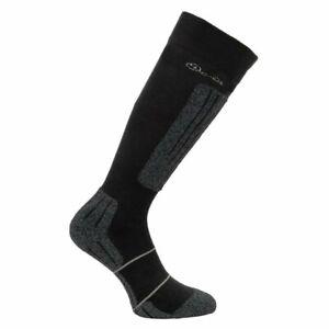 Dare 2B Skiing Socks Women's Contoured II Snowboarding Ski Socks - Black - New