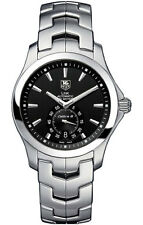 NICE TAG HEUER LINK WJF211A.BA0570 AUTOMATIC CALIBRE 6 MEN'S STEEL BLACK WATCH