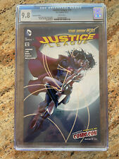 Justice League #12 NYCC Variant CGC 9.8 White Pgs 1st Superman Kiss Wonder Woman