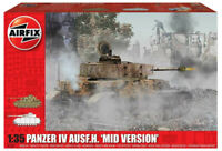 Airfix Panzer IV Ausf.H - Mid Version 1:35 Scale Plastic Model Tank Kit A1351