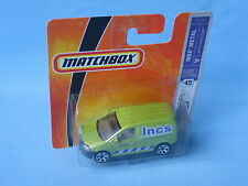 Matchbox VW Volkswagon Caddy Van INCS Delivery Builder Toy Model Car 68mm
