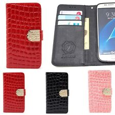 Cubic Croco Wallet Case for Samsung Galaxy Note8 Note5 Note Edge Note4 3 2 / NEO