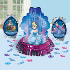 CINDERELLA Sparkle TABLE DECORATING KIT (23pc) ~ Birthday Party Supplies Paper
